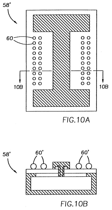 Patent US7112048 - BOC BGA package for die with I-shaped