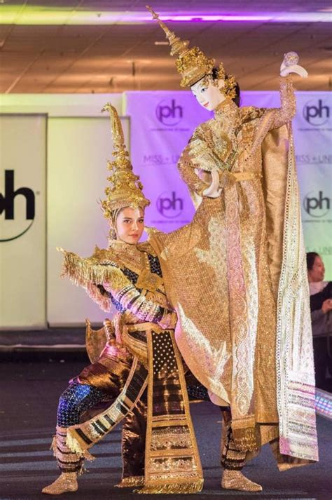 Miss Universe Thailand debuts with God of Thunder costume