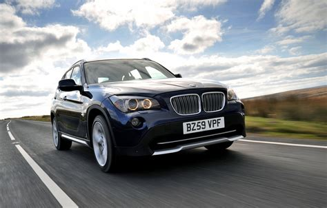 Wallpapers: BMW X1 in Deep Sea Blue