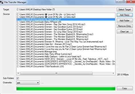Free Software To Copy Files From Multiple Folders To One