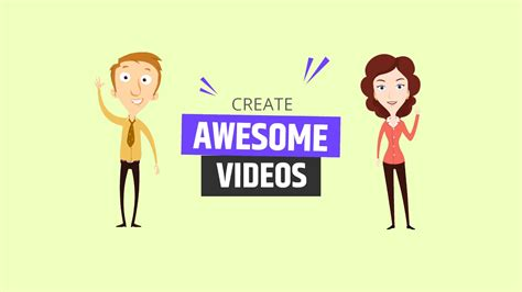 Animated Video Maker - with free music and sounds