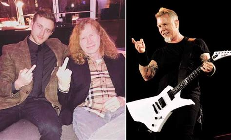 Dave Mustaine's Son Claims That His Father Wrote Metallica