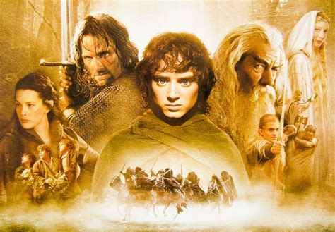 The Lord of the Rings: the Fellowship of the Ring / quad / UK