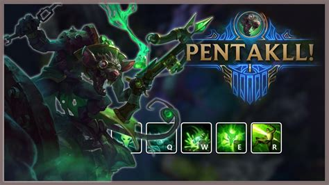 TWITCH MONTAGE - TWITCH PENTAKILL MONTAGE | League of