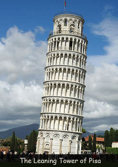Leaning Tower of Pisa Fun Facts for Kids