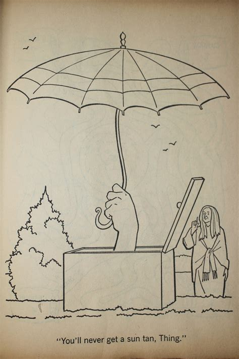 The Addams Family - A Coloring Book (1965) - Flashbak
