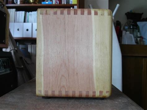 Dovetails for guitar amp cabinet - Woodworking Talk