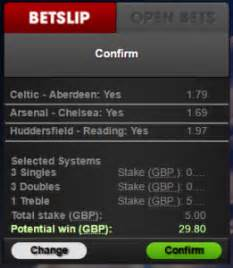 What is a treble bet? | Betting techniques explained