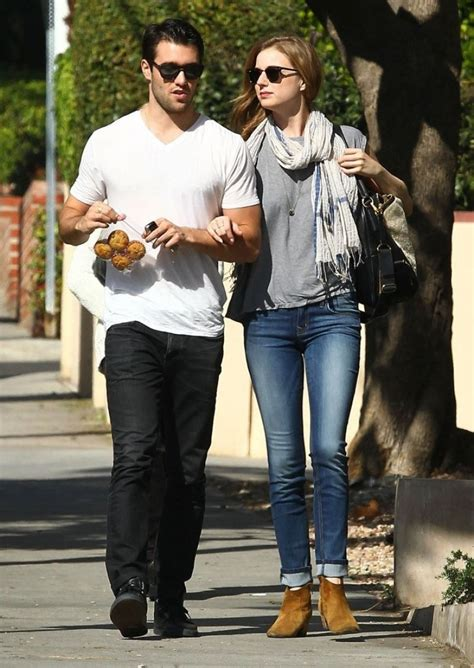 Emily VanCamp & Josh Bowman Hold Hands Out in West
