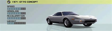 1971 Ford GT70 Concept   Ford Racing 3 Wiki   FANDOM