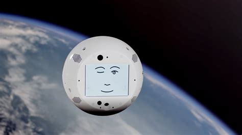 SpaceX launched a flying robot head that will befriend