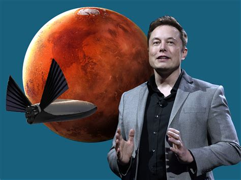 Elon Musk wants to colonize Mars with SpaceX but has yet