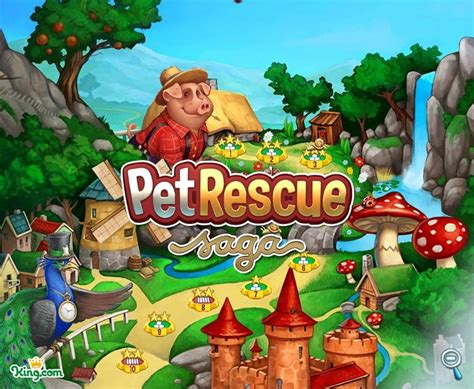 Pet Rescue Saga unveiled by Candy Crush Saga maker: hands