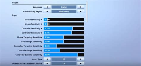 Jarvis Fortnite Settings and Keybinds (Updated July 2019)