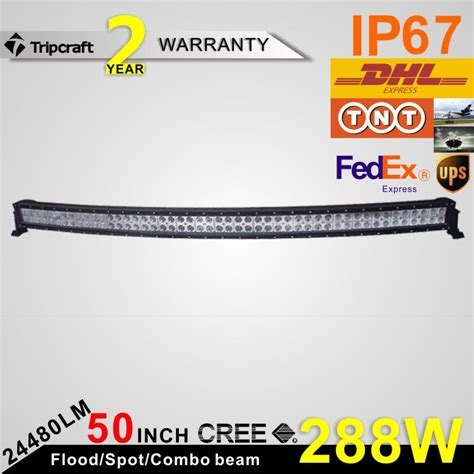 Free Shipping] Buy Best Hotsale!!50inch 2 ROW 288W Crees