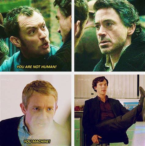 Watson insults and Holmes reactions