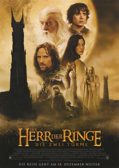 Lord of the Rings: The Two Towers movie posters at movie