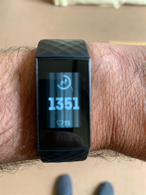 Solved: Charge 3 developed white lines on screen - Fitbit
